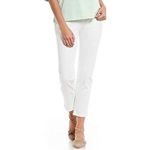 Eileen Fisher Ivory Cotton Stretch Jeans Sz 6